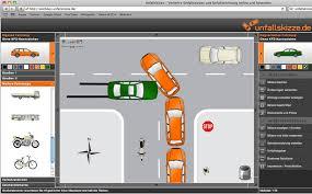 Unfallskizze zeichnen, Unfallberichte mehrsprachig